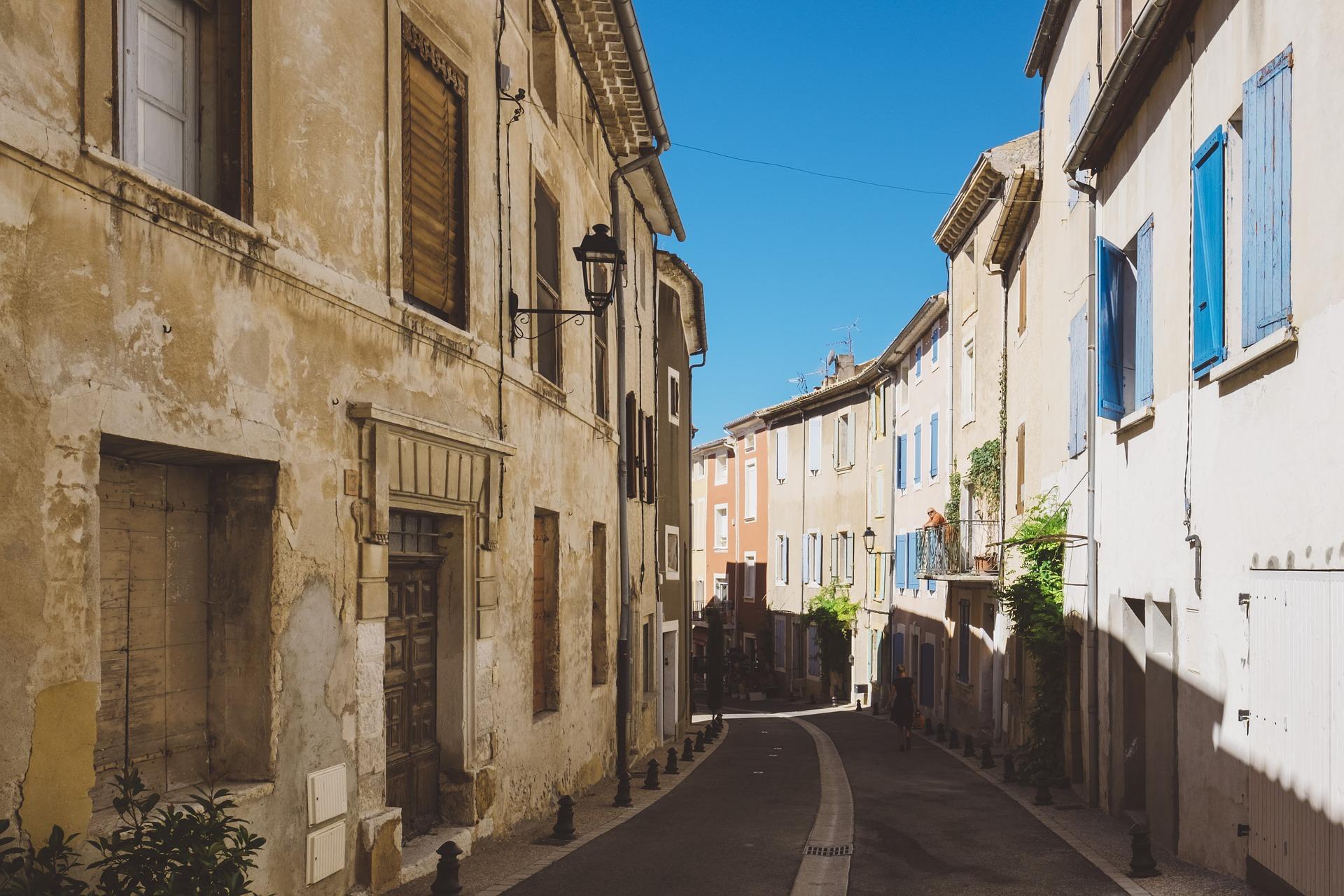 Zastínění ulice